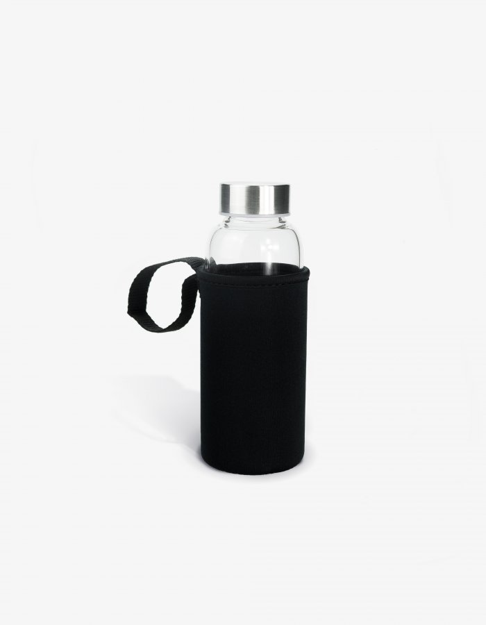 water bottle with neoprene sleeve